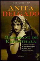 Libro Anita Delgado. Maharaní de Kapurthala