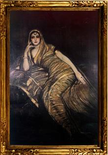 Beltrán Massés me pintó en 1919