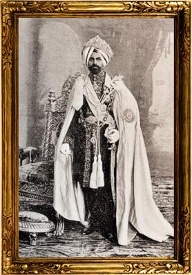 SAR el Maharajá de Kapurthala, mi esposo.