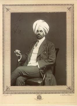 Su Alteza Real el Rajá Jagatjit Singh de Kapurthala